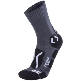 UYN Trekking Outdoor Expl**** Socks Men Anthracite/Pearl Grey